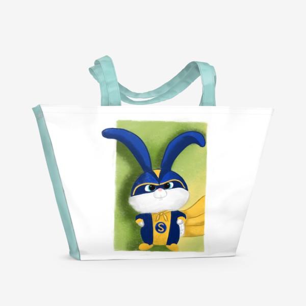 Пляжная сумка «Снежок Тайная жизнь домашних животных»