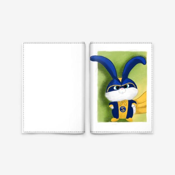Обложка для паспорта «Снежок Тайная жизнь домашних животных»