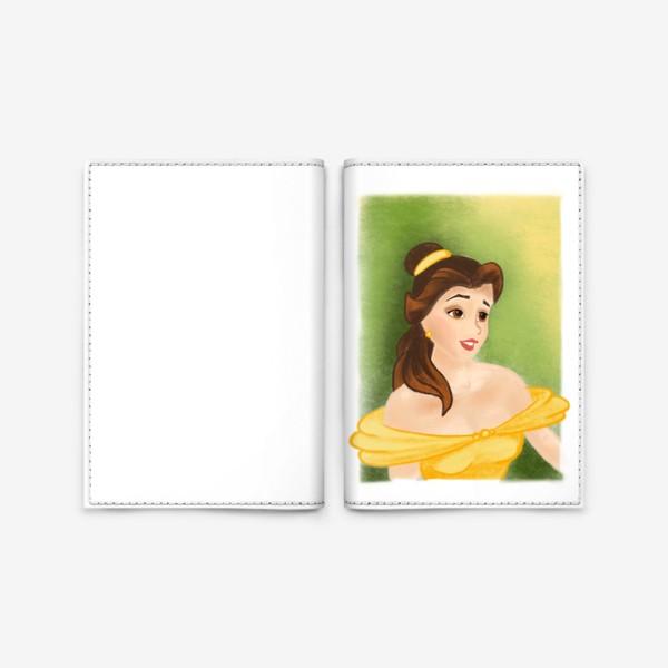 Обложка для паспорта «Белль»