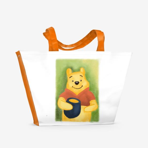 Пляжная сумка «Винни Пух»