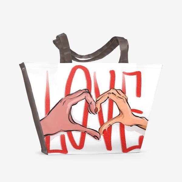 Пляжная сумка «Любовь 2»