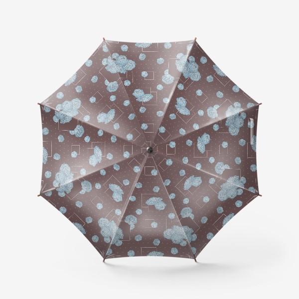 Зонт «Pions_blue»