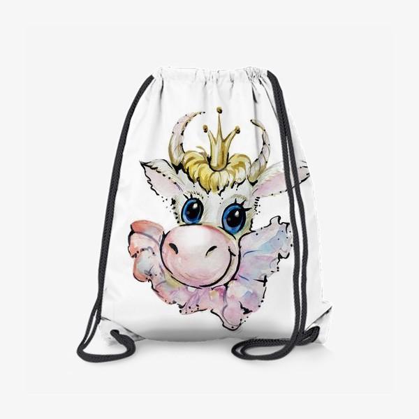 Рюкзак «Коровушка принцесса»