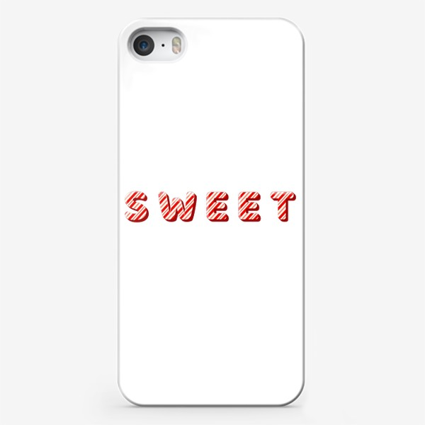 Чехол iPhone «Надпись sweet»