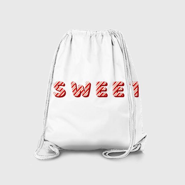 Рюкзак «Надпись sweet»