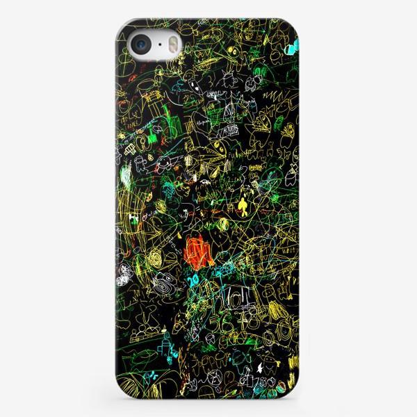 Чехол iPhone «Почеркушки от Илюшки»