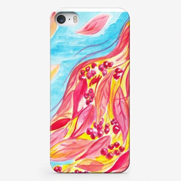 Чехол iPhone «рябинка»