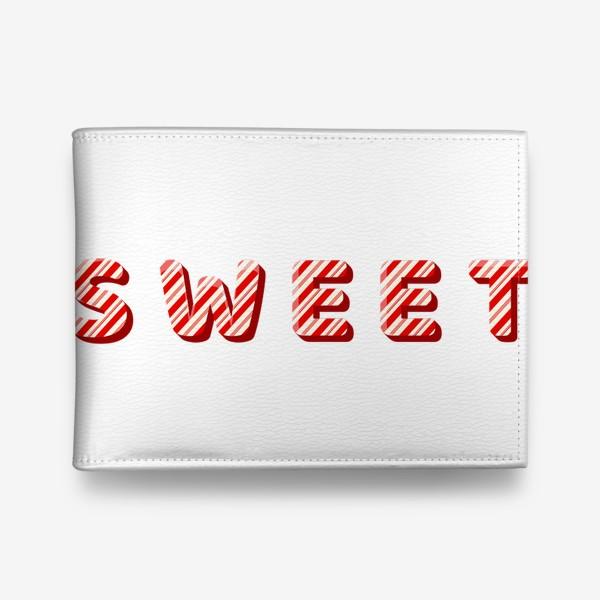Кошелек «Надпись sweet»