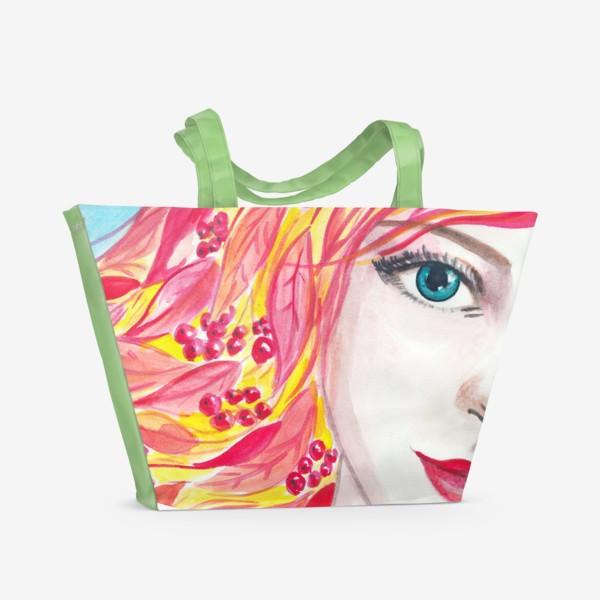 Пляжная сумка «рябинка»