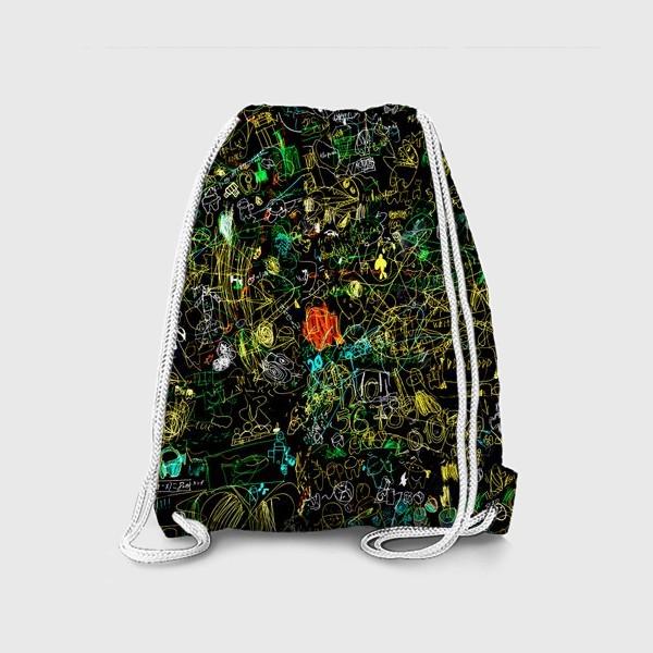 Рюкзак «Почеркушки от Илюшки»