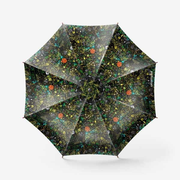Зонт «Почеркушки от Илюшки»