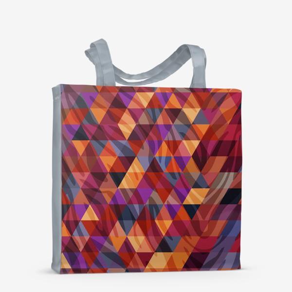 Сумка-шоппер «Геометрический фон»