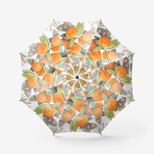 Зонт «мандаринки»