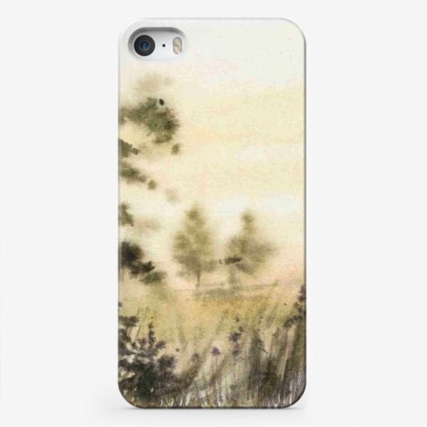 Чехол iPhone «Осень в тумане»