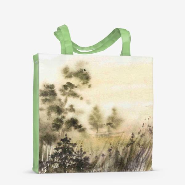 Сумка-шоппер «Осень в тумане»