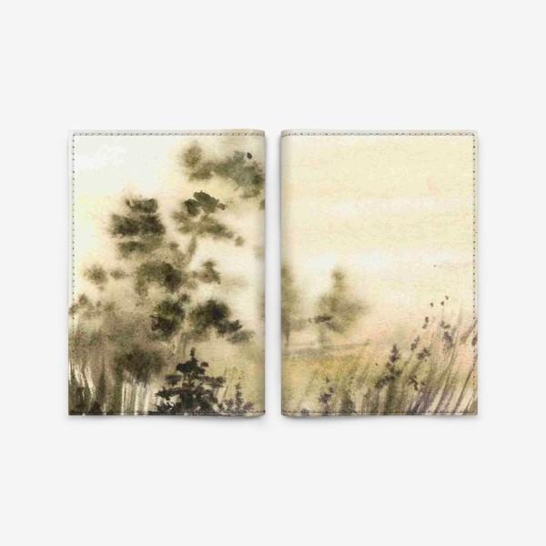 Обложка для паспорта «Осень в тумане»