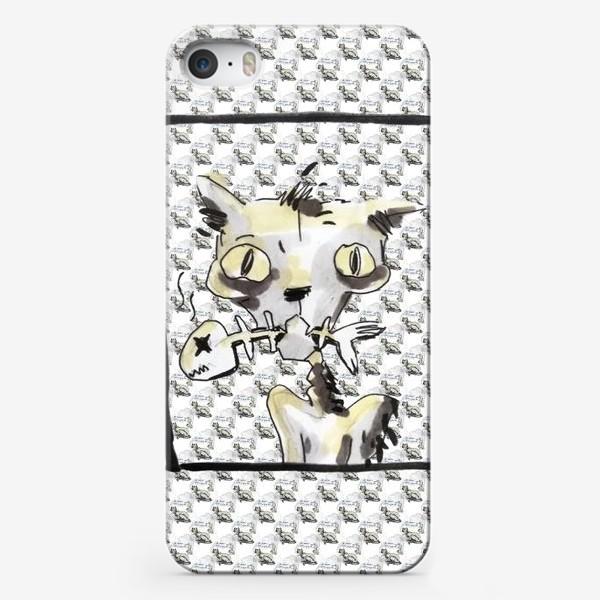 Чехол iPhone «Ковидный кот»