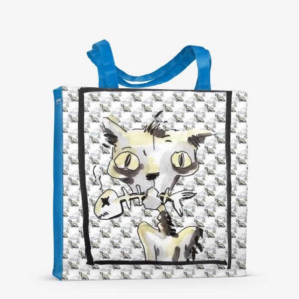 Сумка-шоппер «Ковидный кот»