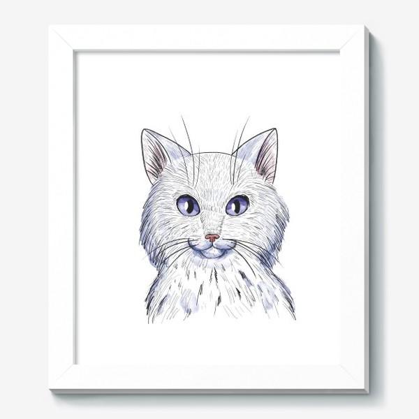 Картина «Кот акварель»