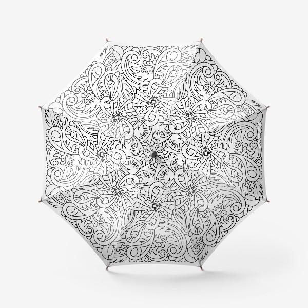 Зонт «Абстракция в квадрате»