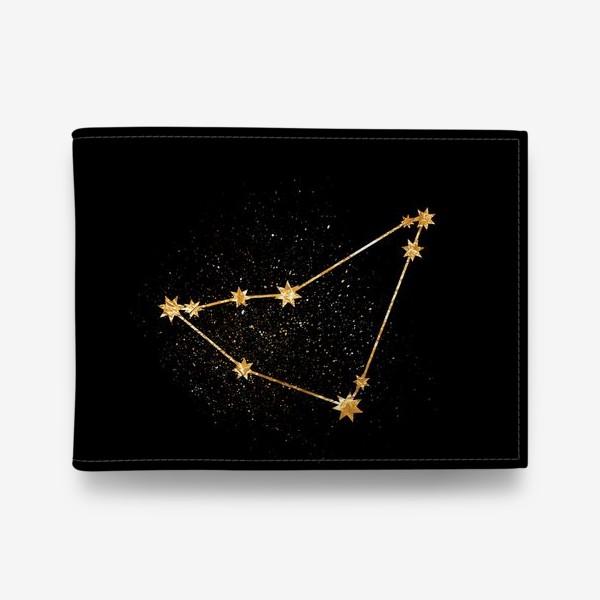 Кошелек «Козерог. Созвездие. Золото»