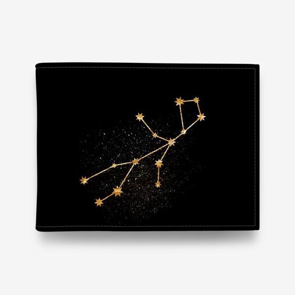 Кошелек «Дева. Созвездие. Золото»