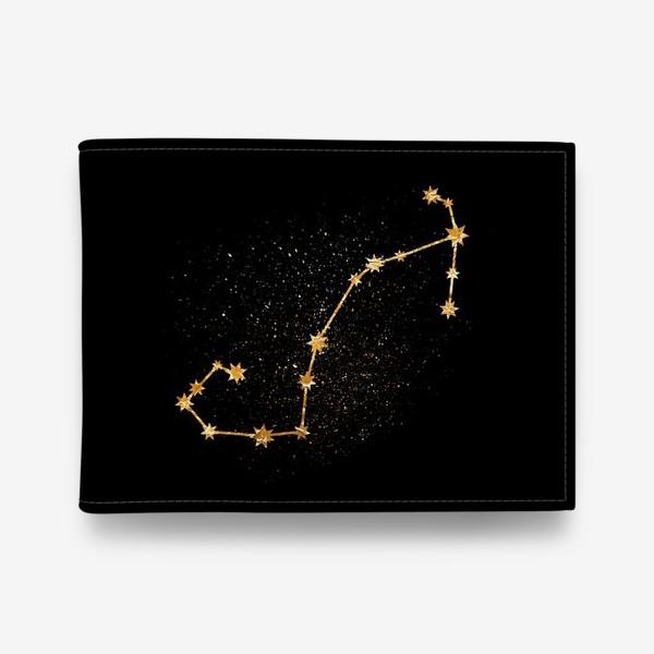 Кошелек «Скорпион. Созвездие. Золото»