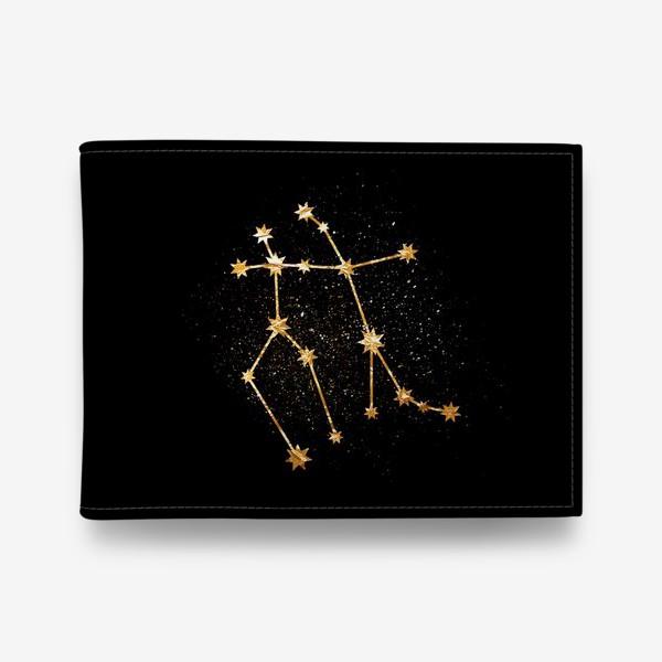 Кошелек «Близнецы. Созвездие. Золото»