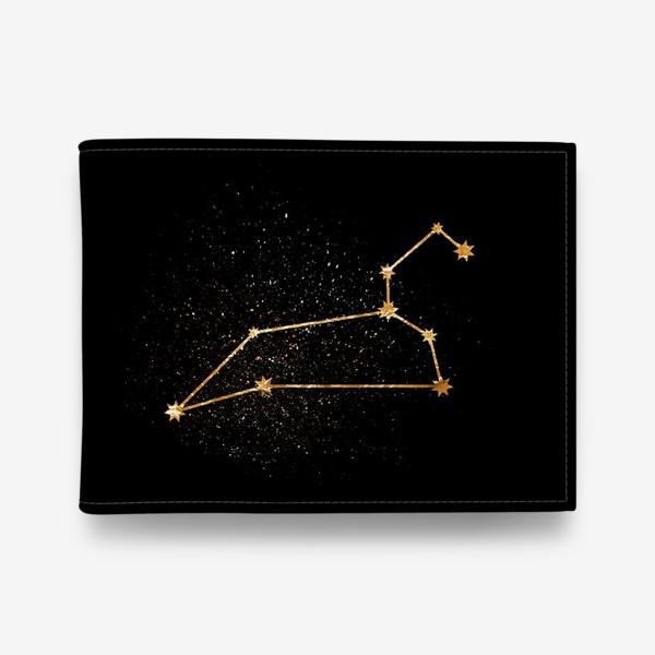 Кошелек «Лев. Созвездие. Золото»