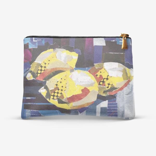 Косметичка «Натюрморт Лимоны»