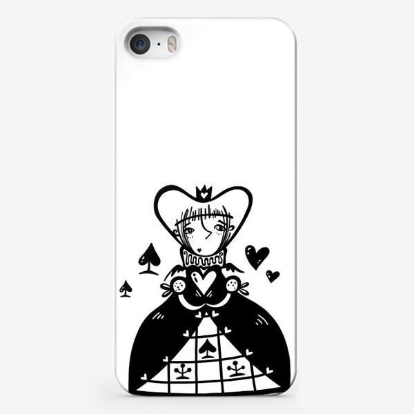 Чехол iPhone «Темная королева»