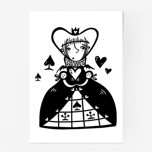 Постер «Темная королева»