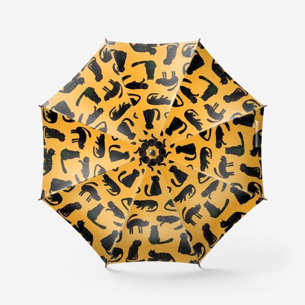 Зонт «чёрные коты»