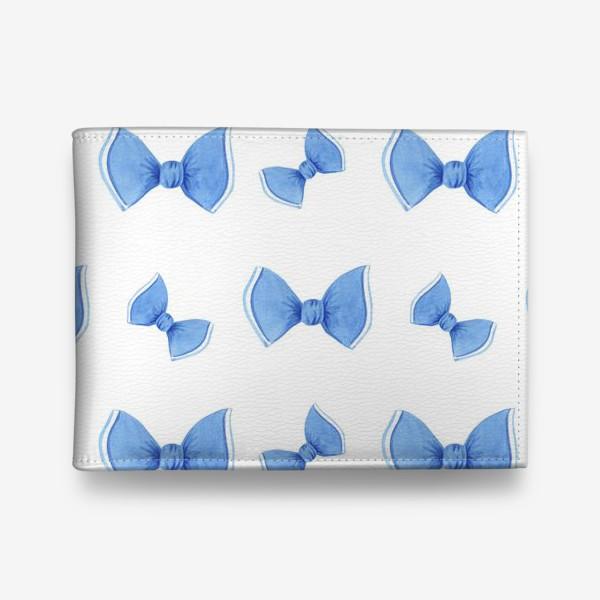 Кошелек «Синие бантики»