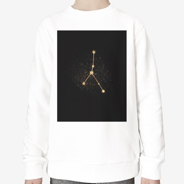 Свитшот «Рак. Созвездие. Золото»