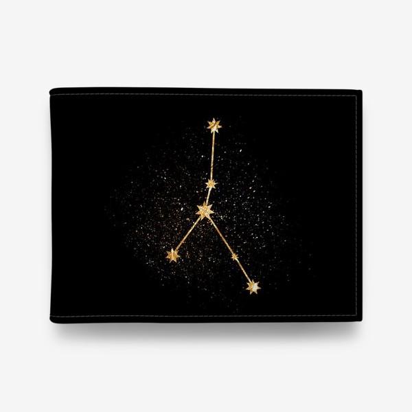 Кошелек «Рак. Созвездие. Золото»