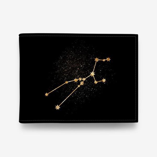 Кошелек «Телец. Созвездие. Золото»