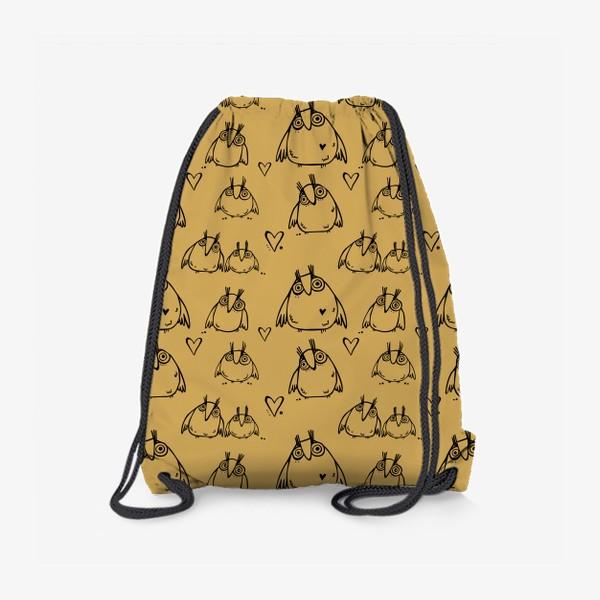 Рюкзак «Совушки»