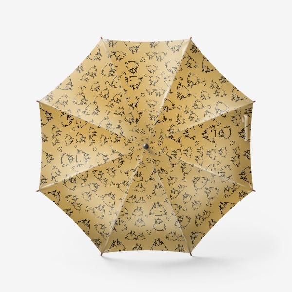 Зонт «Совушки»