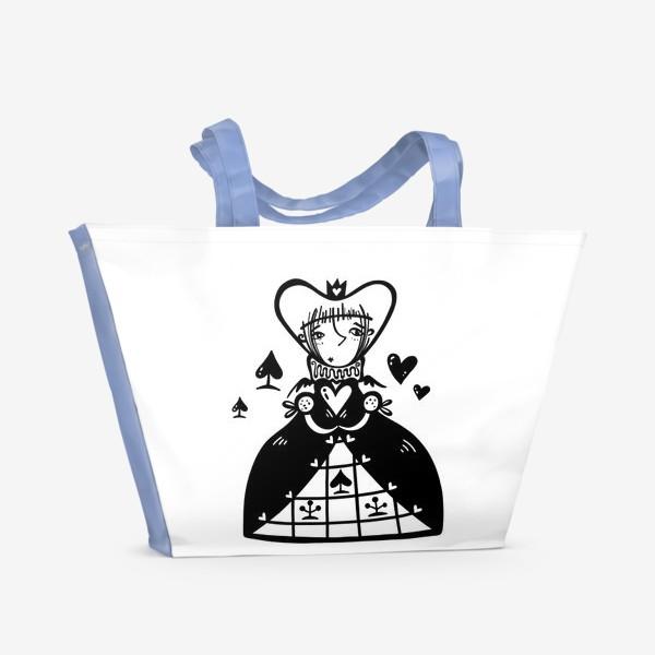 Пляжная сумка «Темная королева»