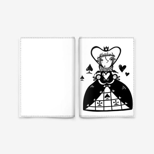Обложка для паспорта «Темная королева»