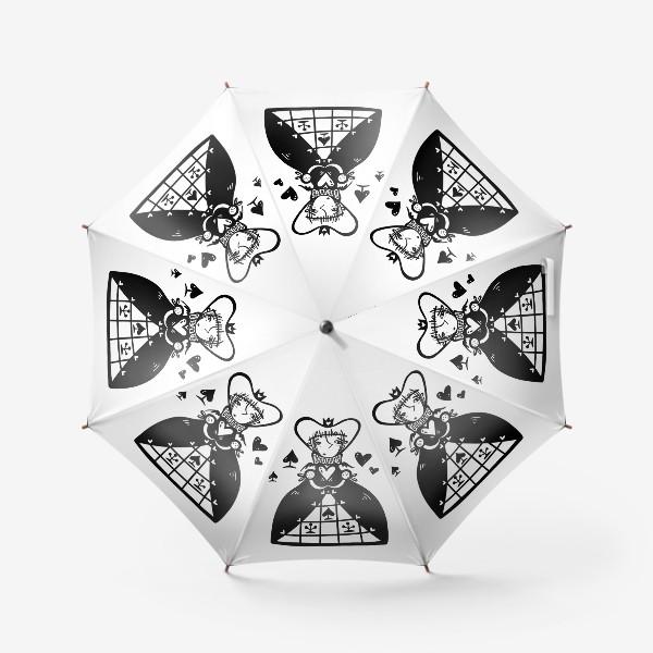 Зонт «Темная королева»