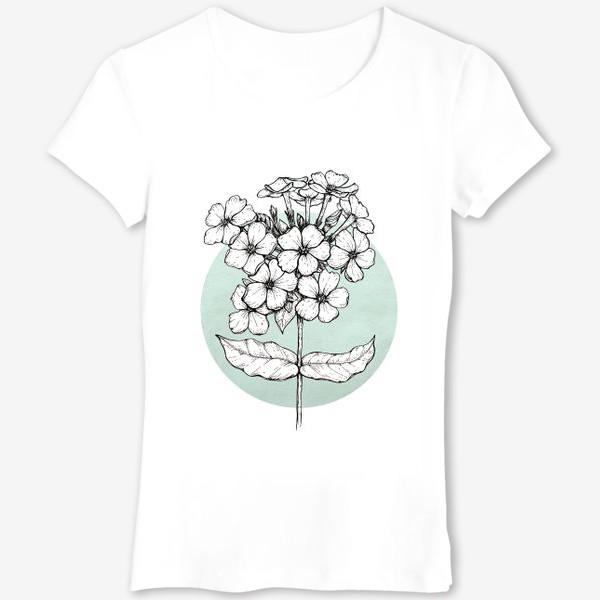 Футболка «Цветок флокс»