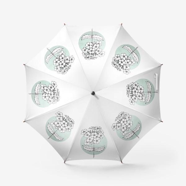Зонт «Цветок флокс»