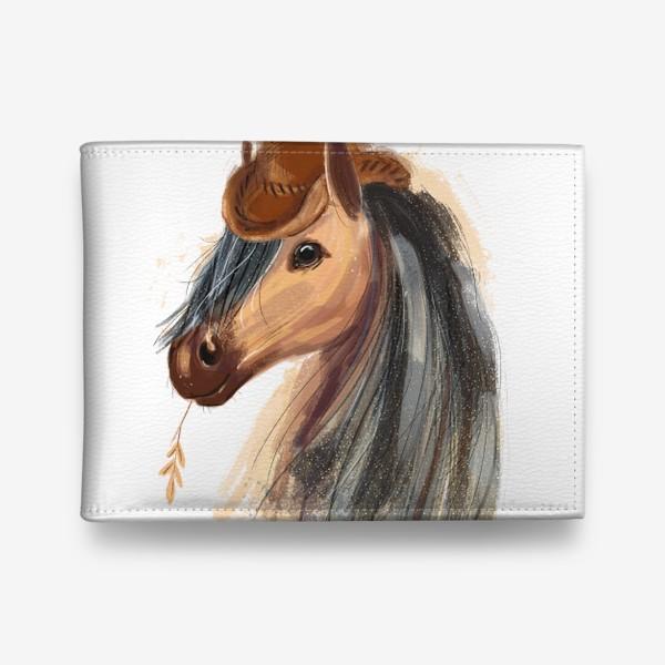 Кошелек «Лошадь в ковбойской шляпе»