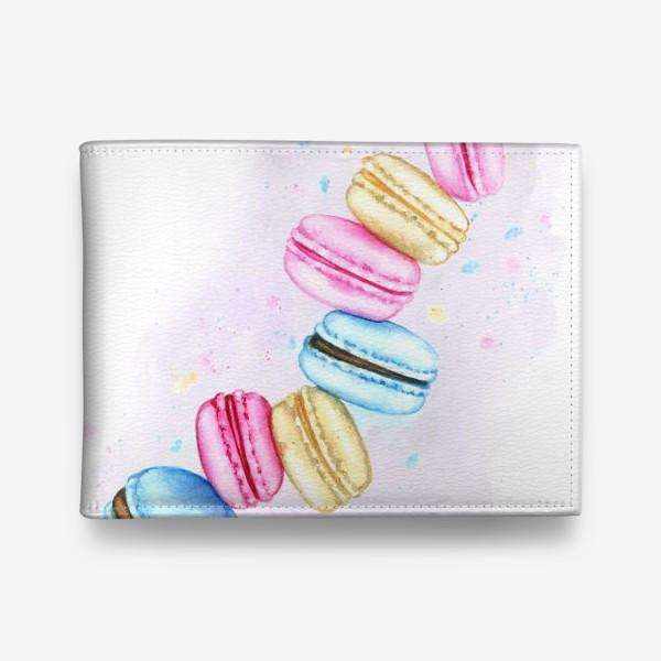 Кошелек «Десерты. Macarons 2»