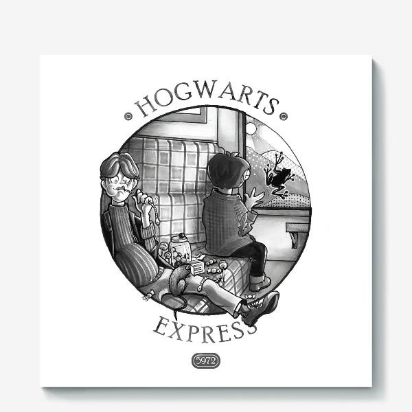 Холст «Гарри Поттер. Экспресс до Хогвартса.»