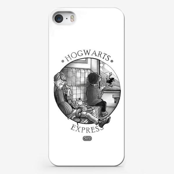 Чехол iPhone «Гарри Поттер. Экспресс до Хогвартса.»