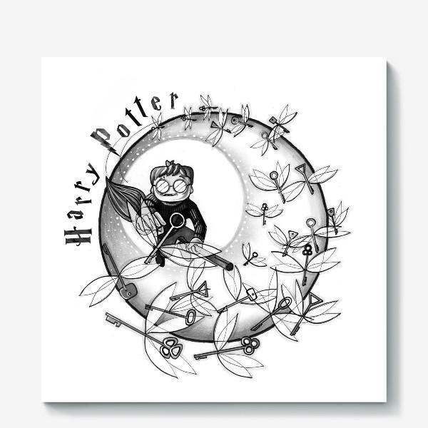 Холст «Гарри Поттер. Летающие ключи.»