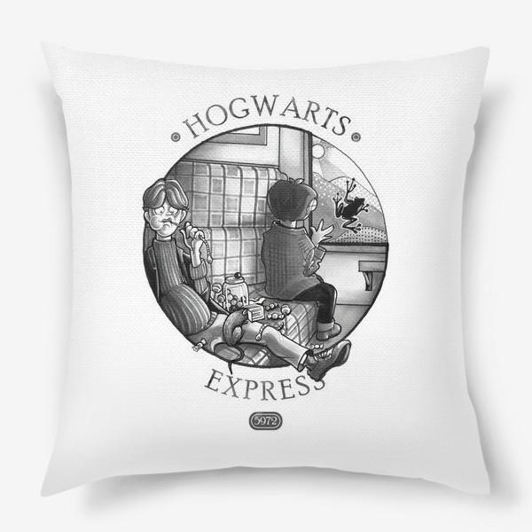 Подушка «Гарри Поттер. Экспресс до Хогвартса.»